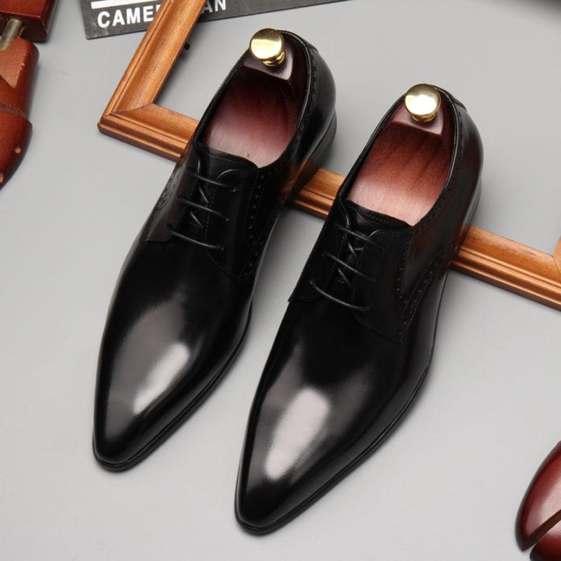giày da nam buộc dây đẹp