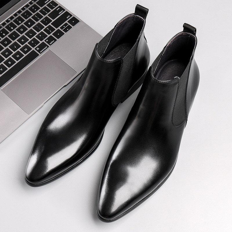 Giày chelsea boots thời trang trẻ trung M403