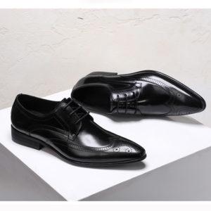 Giày tây nam buộc dây mũi nhọn đẹp