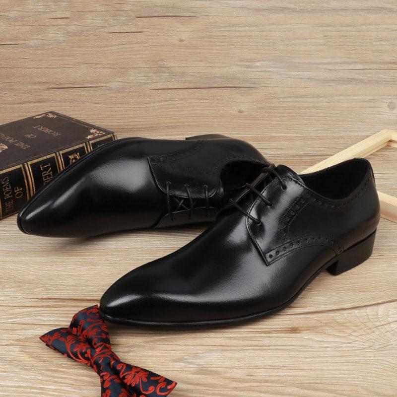 giày da nam công sở mũi nhọn tại hà nội