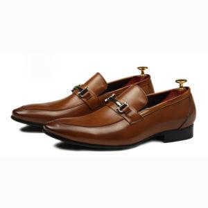Giày lười công sở phong cách hàn quốc