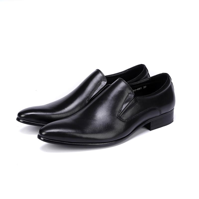 Giày lười nam công sở mũi nhọn đẹp