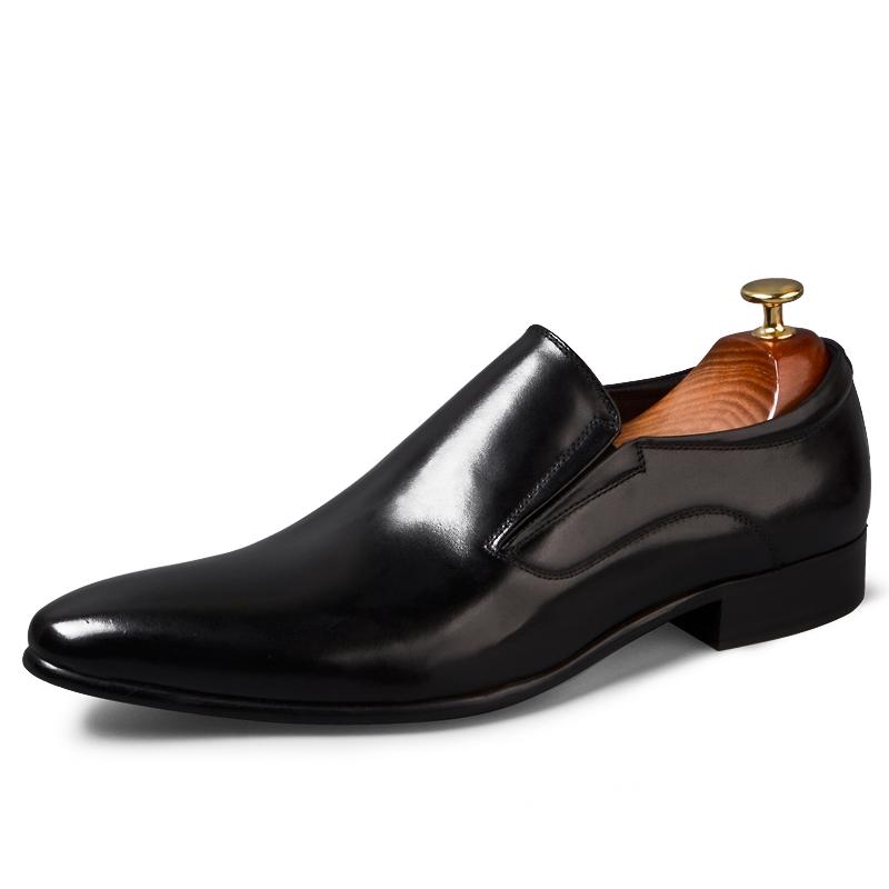 giày lười nam công sở da bò thật đẹp