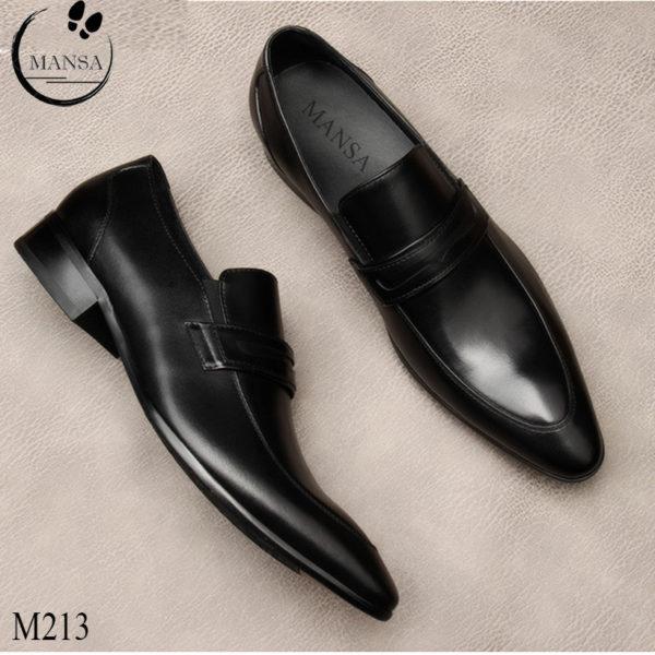 Giày lười da bò nam trẻ trung