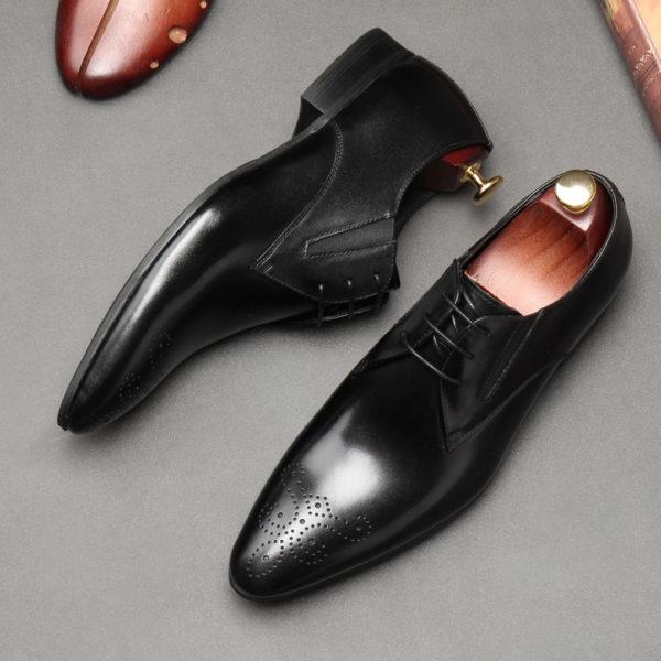 giày nam công sở da bò mẫu mới nhất