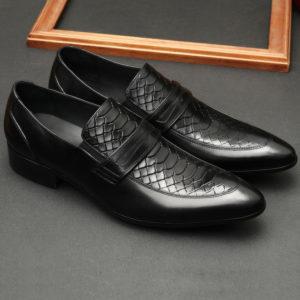 giày lười nam công sở đẹp da bò thật
