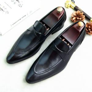 Giày tây da bò nam Hà Nội