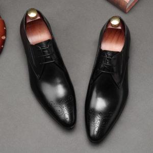 Giày tây đẹp buộc dây công sở