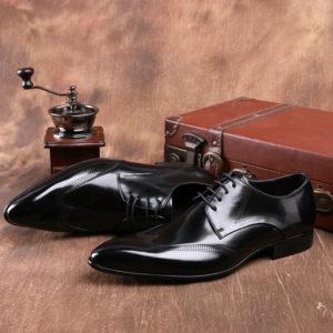 Giày tây nam công sở màu đen đẹp