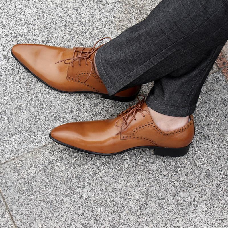 Giày da nam phong cách