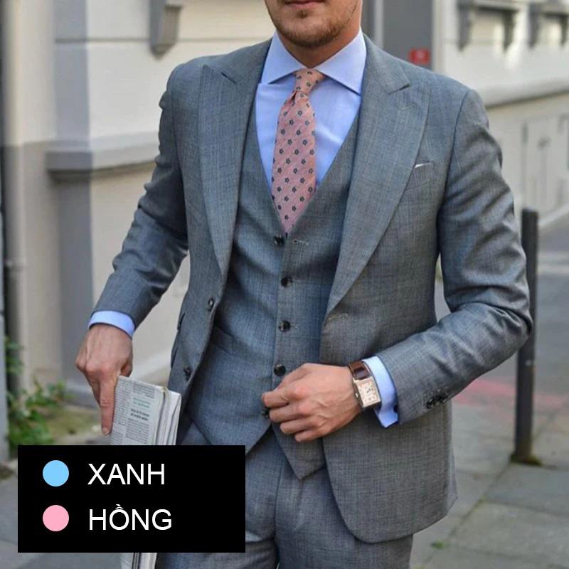 cách phối đồ vest cho nam đẹp