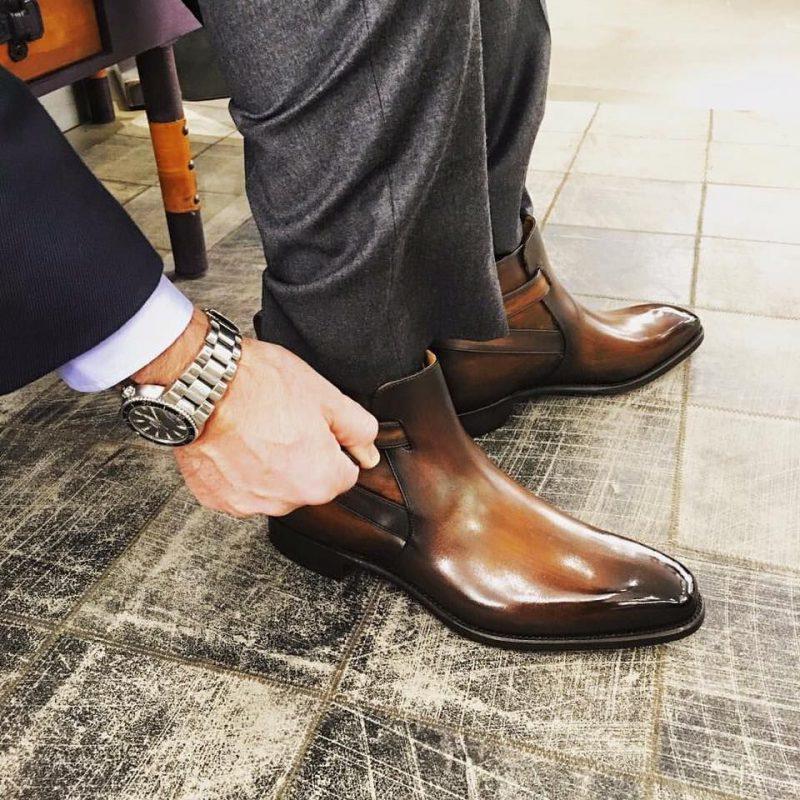 lựa chọn giày da nam tốt