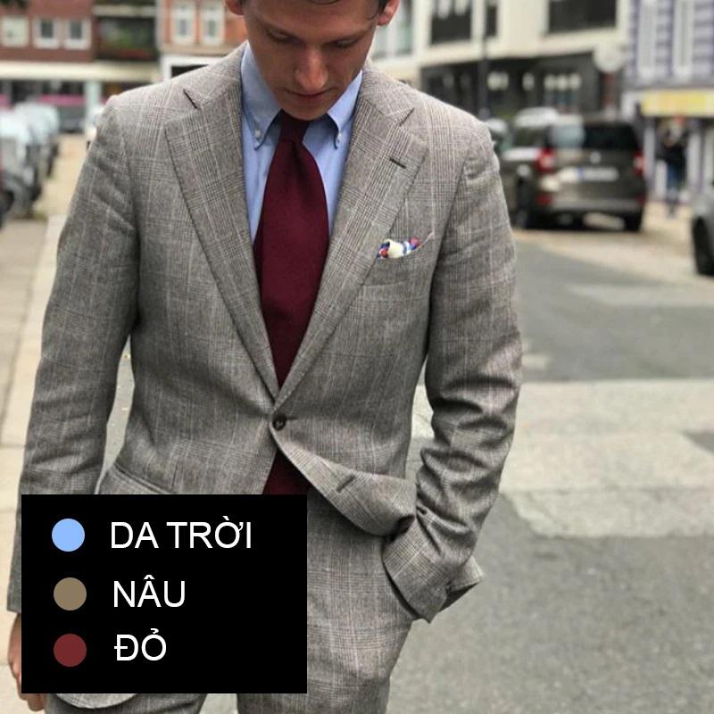 Phối đồ theo màu sắc trang phục 4
