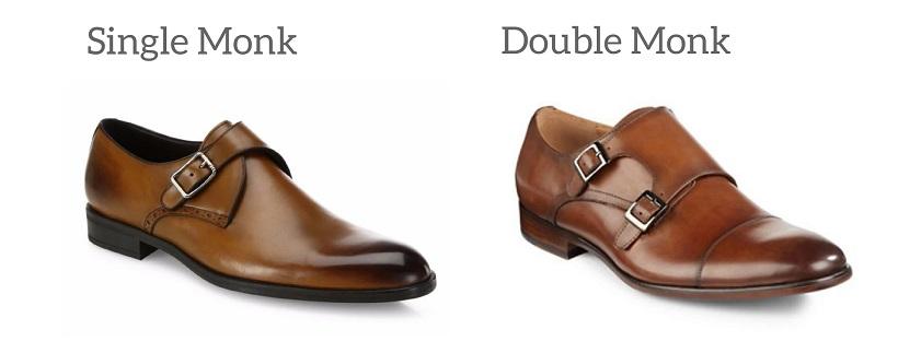 Giày da nam Monkstrap đẹp