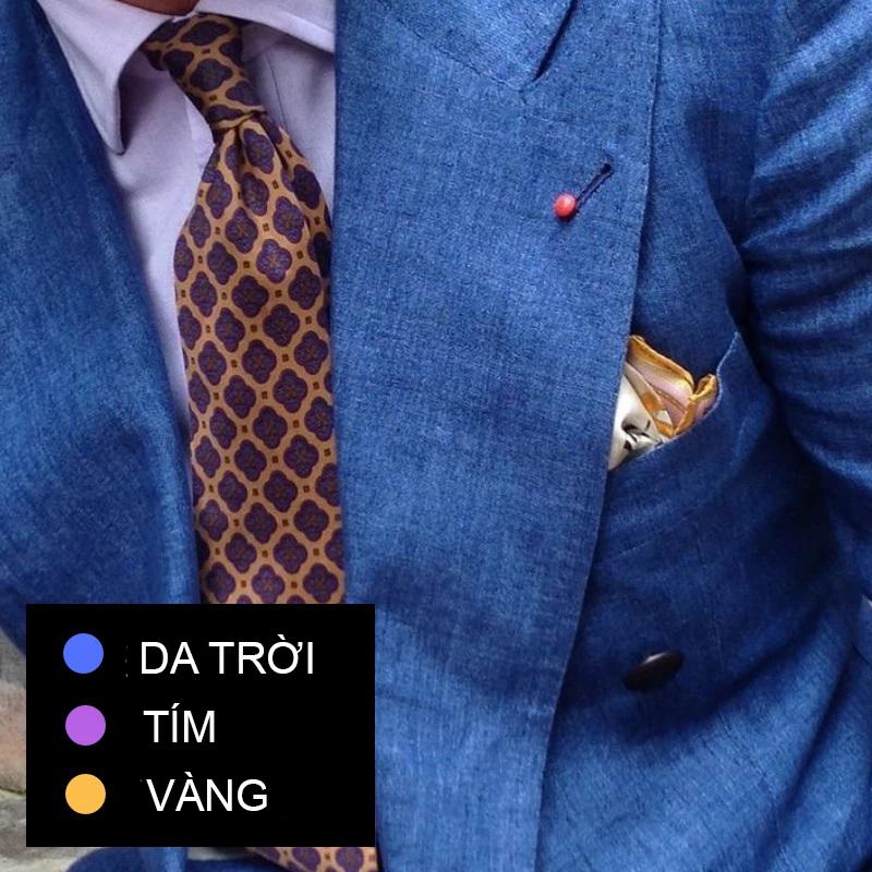 Phối đồ theo màu sắc trang phục 5