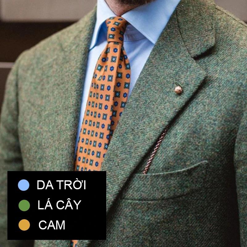 Phối đồ theo màu sắc trang phục 2