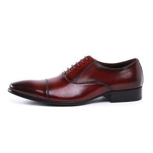 giày buộc dây da bò đẹp tại hà nội