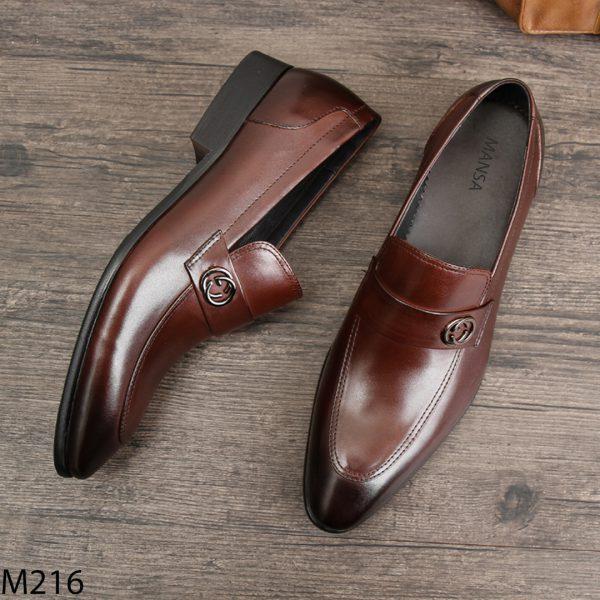 giày lười nam kiểu dáng trẻ trung