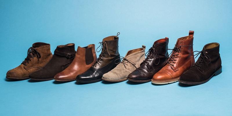 Boot nm cao cổ da bò đẹp