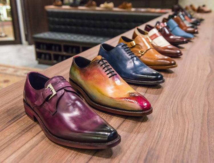 giày đánh màu patina đẹp