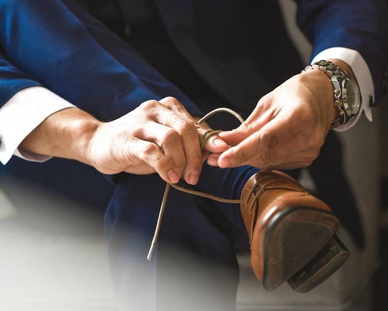 hướng dẫn cách chọn giày đi dự tiệc đám cưới cho nam