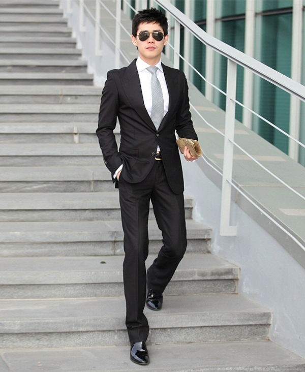 giày đẹp cho vest đen