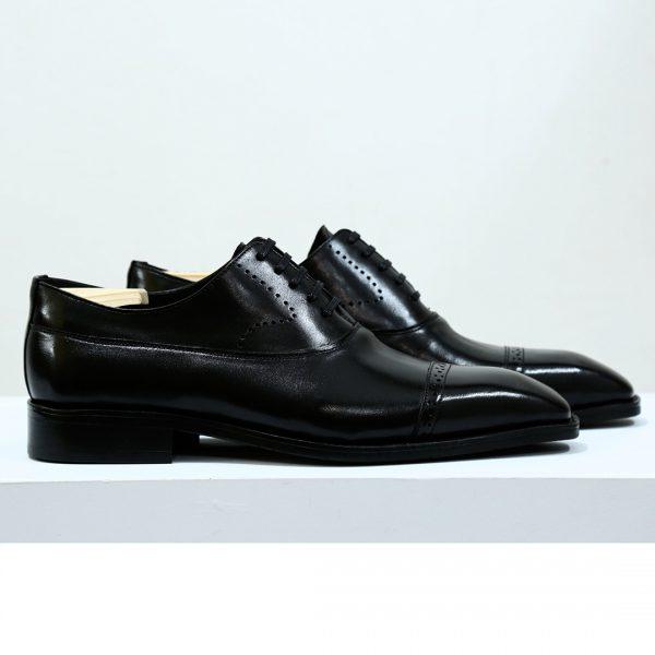 giày tây nam đế bằng m604