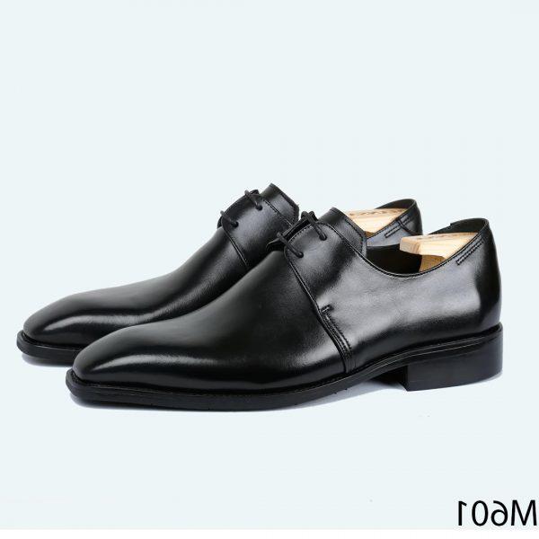 Giày nam derby mũi vuông M601