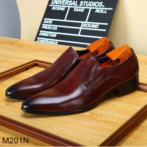 Mẫu giày patina nâu đỏ mới nhất 2020 cho dân công sở