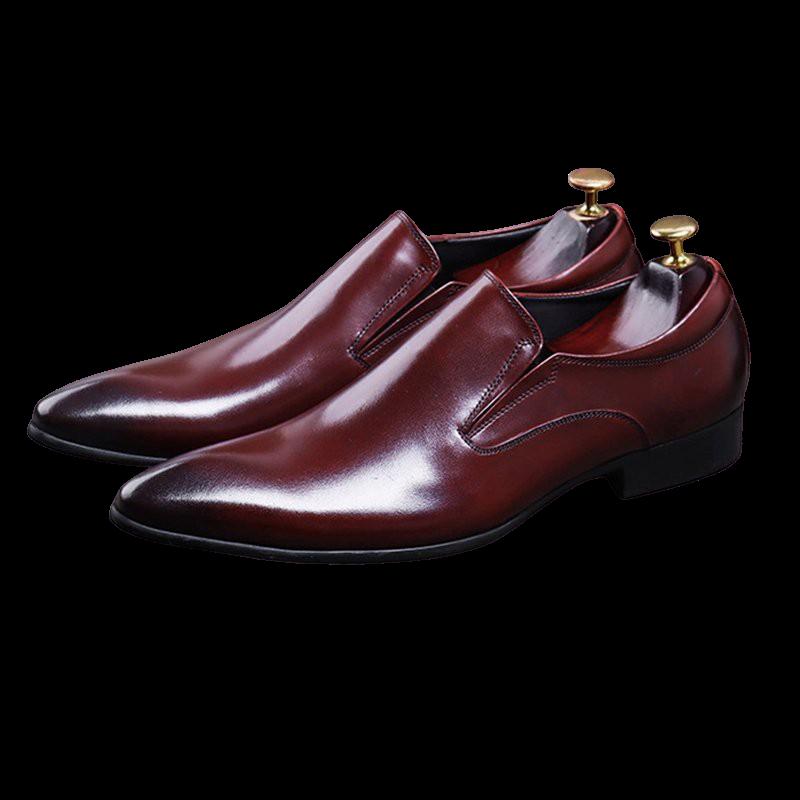 Giày lười nam công sở da bò M201N